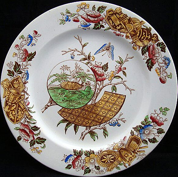 Aesthetic Transfer Plate ~ Rare Turtle 1882