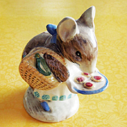 Beatrix Potter Appley Dapply Beswick England Hand-Painted Storybook Figurine