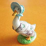 Beatrix Potter Jemima Puddleduck Puddle-Duck Beswick England Figurine