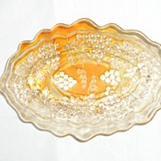 Northwood Grape & Cable Pin Tray in Marigold