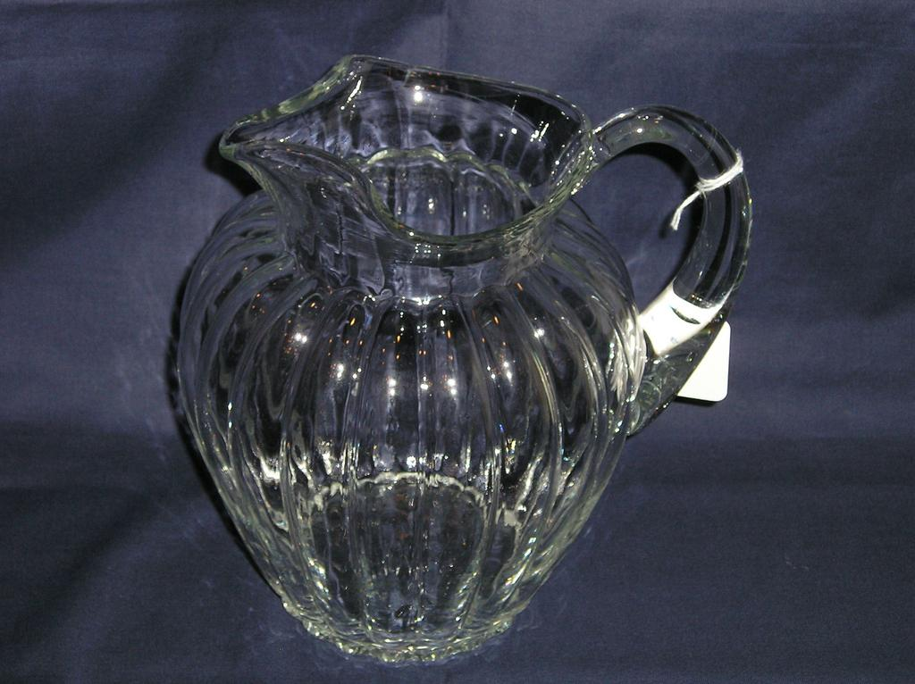 Heisey Crystolite Blown Pitcher with Ice Lip