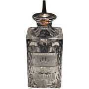 "Fostoria American Crystal ""Bitters"" Bottle with Tube"