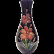 "Moorcroft 12-3/4"" Freesia Decorated Vase"