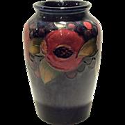 """Moorcroft 6"""" Pomegranate Decorated Vase"""