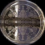 Cambridge Rosepoint Crystal Coaster