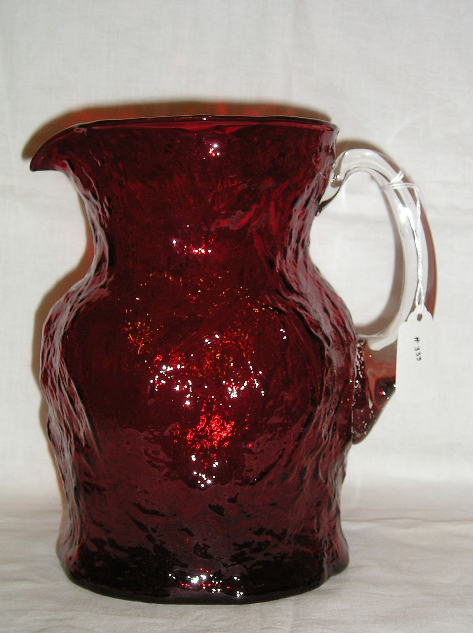 Morgantown #1933 LMX Spanish Red Ockner Pattern Jug