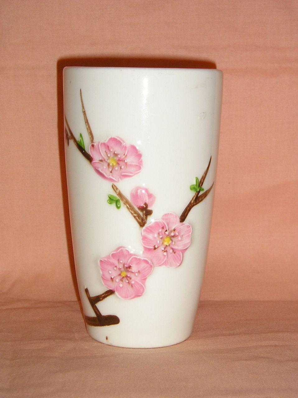 Metlox Peach Blossom 12 ounce Tumbler
