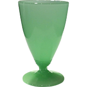 Fenton Art Glass Jade Green #1640 or 1639 - 8 ounce Goblet