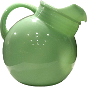 Fire King Jadite 80 Ounce Ball Pitcher