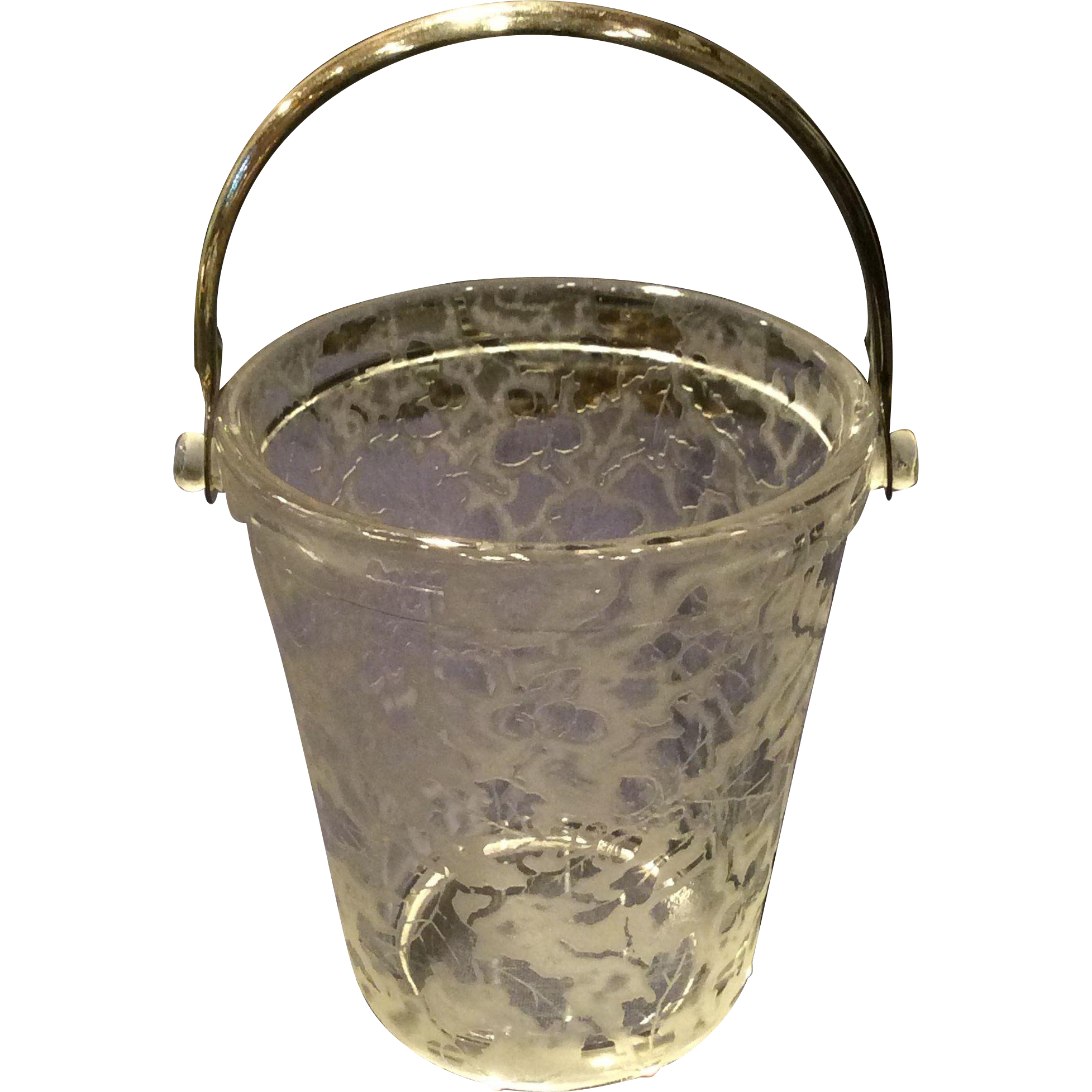 Fostoria Crystal #290 Oakleaf Sugar Pail