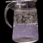 Cambridge Crystal Chantilly Drip Cut Syrup