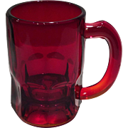 Cambridge Carmen (Red) #593 - 8 Ounce Handled Mug or Stein