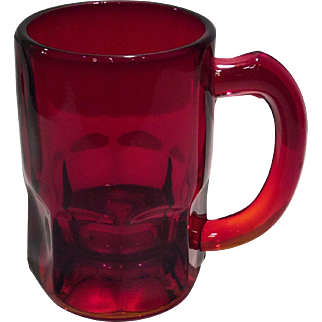 Cambridge Carmen (Red) #593 - 8 Ounce Handled Mug or Stein