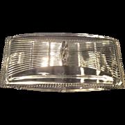 Tiffin Crystal Cascade, Line #15365, Covered Cigarette Box