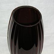 New Martinsville Oscar Pattern No. 36 Ruby Red Vase