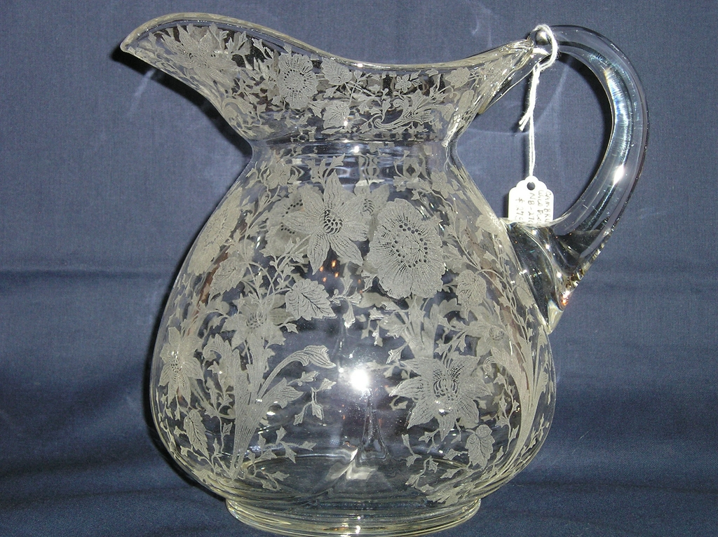 Cambridge Wildflower #3400/152 Doulton Pitcher