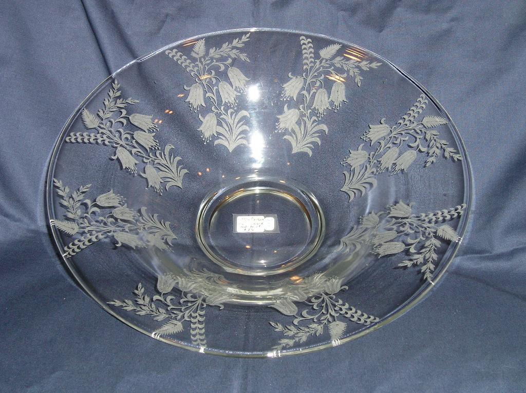 Tiffin Fuchsia Flared Console Bowl