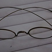 18th/19th Century Brass Oval Lens Spectacles