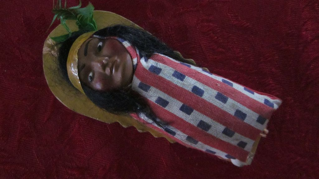 Vintage Skookum Papoose Indian Doll