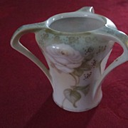 RS Germany Hand Painted 3 Handled Toothpick Holder