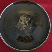 "Robert Burns Series, ""Highland Mary"" Plate by Ridgways"