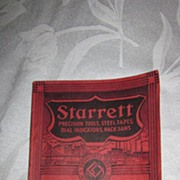 Starrett Catalog #26, Fine Mechanical Tools, 1938