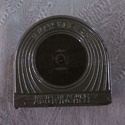 Master Tufboy Brite Blade Silver and Brass Art Deco 6' Tape Measure