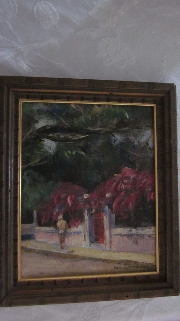Impressionist genre oil painting by lee johnson from for Lee s painting