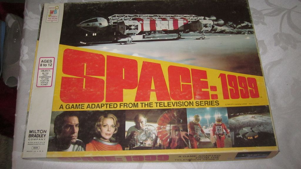 Space 1999, Board Game, Milton Bradley, 1976