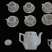 Vintage Child's/Doll Hand Decorated 15 Piece China Tea Set