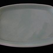 "Bauer La Linda 10 1/2"" Oval Platter, Green"