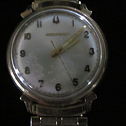 Men's Bulova Accutron 10KGF Wrist Watch, M9, 1969
