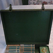 1930's Bullard Miner's First Aid Kit, Contents, and Instruction Manual