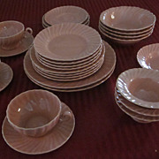 Franciscan Coronado Coral Dinnerware, 27 Pieces