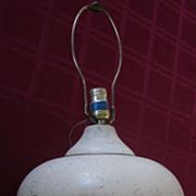 Mid Century Danish Modern Bulbous Lamp
