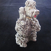 """Standing Grey Spaghetti Poodle, 5"""""""