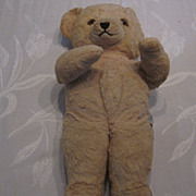 "Knickerbocker Teddy Kuddles, 14"" Blond Teddy Bear"