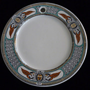 Victorian Warming Dinner Plates, 4 Available