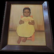 "Gustovo Montoya Original Print, Framed, 20"" X 24 1/2"""