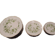 Haviland Limoges Carette Porcelain, 22 Pieces