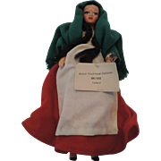Peggy Nisbet Doll, Traditional Costume, Ireland, BR/302