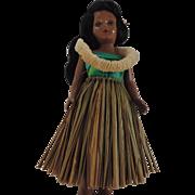 Vintage Hula Girl Doll