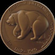 California BiCentennial Bronze Medallion
