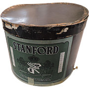 Stanford Oval Hat Box