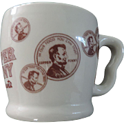 The Copper Penny Restaurant Coffee Mug, Shenango China