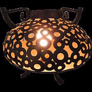 Moroccan Brass Brazier/Lamp