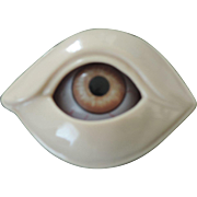 Mechanical Ceramic, Eye and Eye Orbit Paperweight