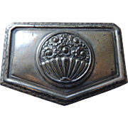 "Victorian Silver Finish Jewel Casket, 3"" X 2"" X 1 1/2"""