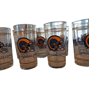 Vintage Los Angeles Rams Tumblers, Set of 8