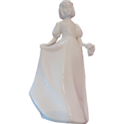 Royal Doulton Images, Bridesmaid, White Porcelain Figurine